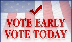 Vote Early. Vote Today.